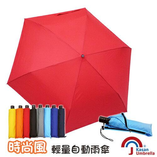 [Kasan]輕風俠自動雨傘-大紅