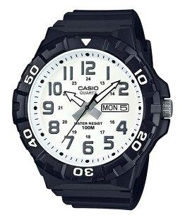 大高雄鐘錶城:CASIOMRW-210H-7A大錶徑指針腕錶黑白53mm