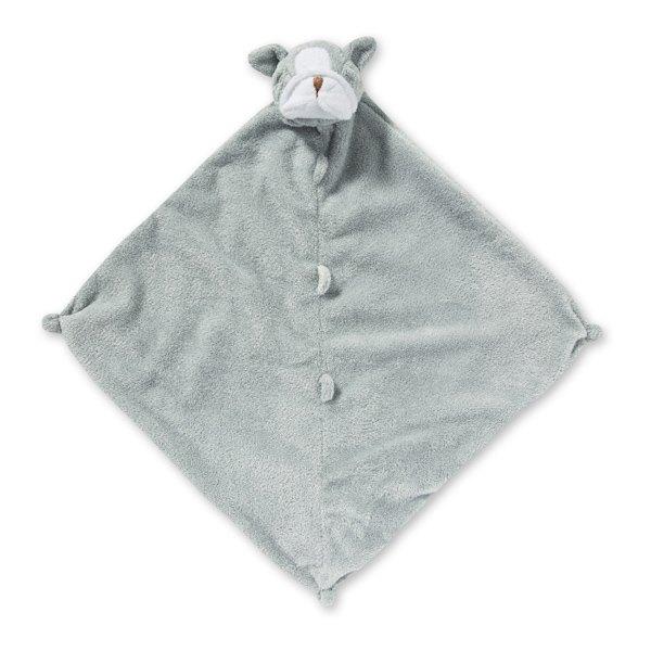 AngelDear動物嬰兒安撫巾灰色鬥牛犬『121婦嬰用品館』