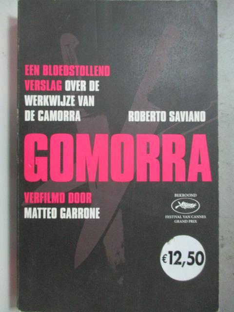 ~書寶 書T9/原文小說_HRW~Gomorra_Roberto Saviano Karo