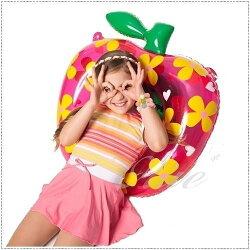 ☆小薇的店☆台灣製聖手品牌【亮彩條紋款式】女童連身裙泳裝特價590元 NO.A88603(10-18)