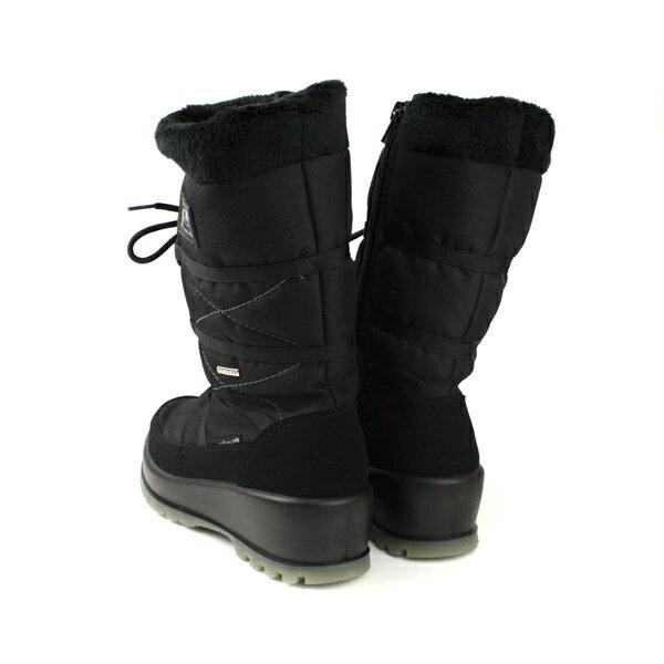 Grnland  靴子 長靴 雪靴 雪爪 保暖 黑色 女鞋 DO0281 no033