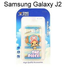 海賊王透明軟殼  條紋  喬巴 Samsung J200YZ Galaxy J2 航海王保