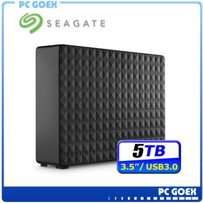 希捷Seagate Expansion Desktop 5TB 3.5吋 新黑鑽外接硬碟☆pcgoex軒揚☆