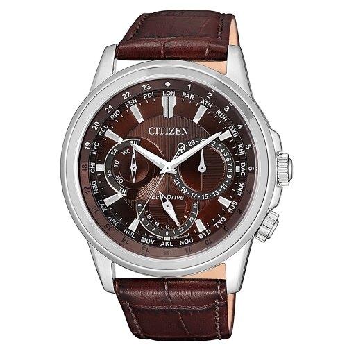 清水鐘錶 CITIZEN 星辰 BU2020-29X 都市時尚日期顯示光動能腕錶 咖啡 44mm