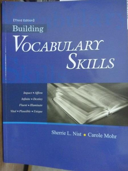 ~書寶 書T7/原文書_PIK~Building Vocabulary Skills 3