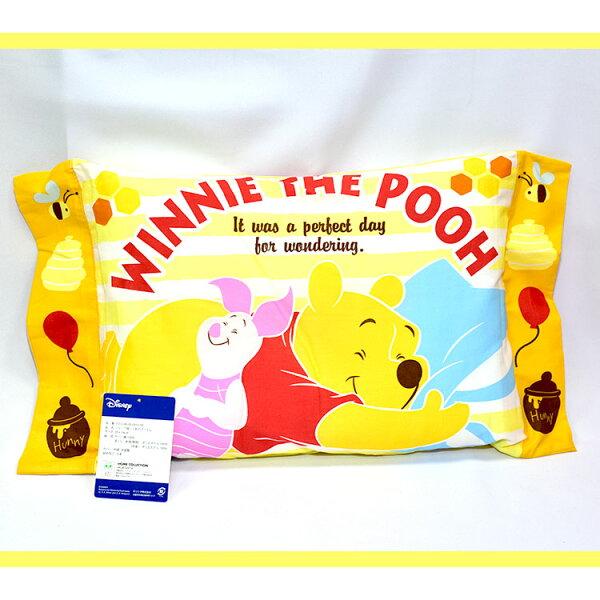 小熊維尼兒童枕頭午睡枕抱枕日本帶回日本正版商品迪士尼pooh
