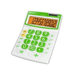 計算機 KINYO 耐嘉 繽紛彩漾護眼計算機 KPE-565 共兩色 大型螢幕 數字 12位元 太陽能 雙重電源 計算