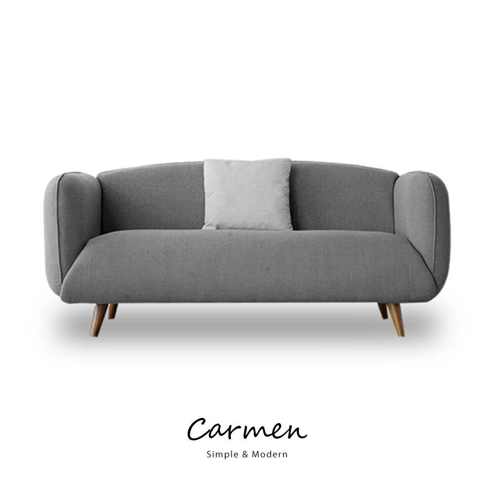 Carmen簡約北歐風三人沙發(含抱枕) 3