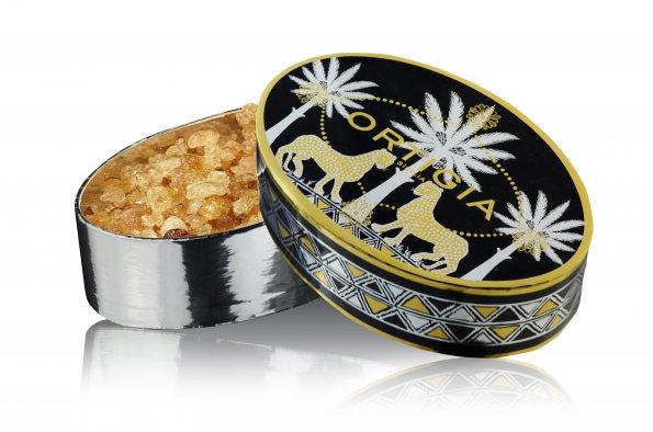 歐媞迦 Ortigia - Ambra Nera - 溫暖琥珀 香氛晶石 150g (柔軟辛辣香調) *** 內含1瓶20ml頂級香精補充液