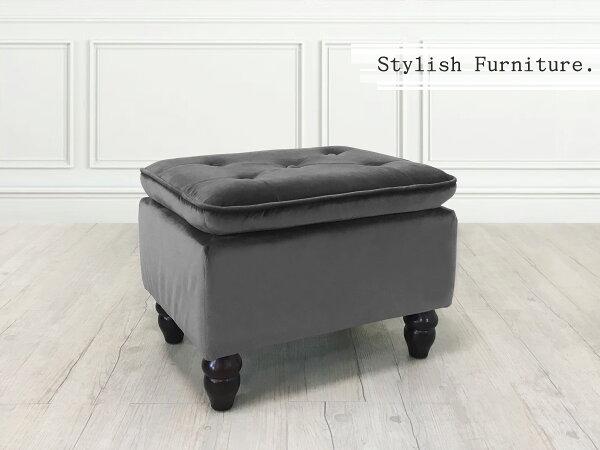 新生活家具NewlifeFurniture:!新生活家具!方凳鐵灰矮凳椅凳穿鞋椅化妝椅腳凳絨布沙發腳椅《炫彩》非H&Dikea宜家