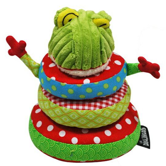 【全新品3折出清】法國【 DEGLINGOS】疊疊樂 - 青蛙