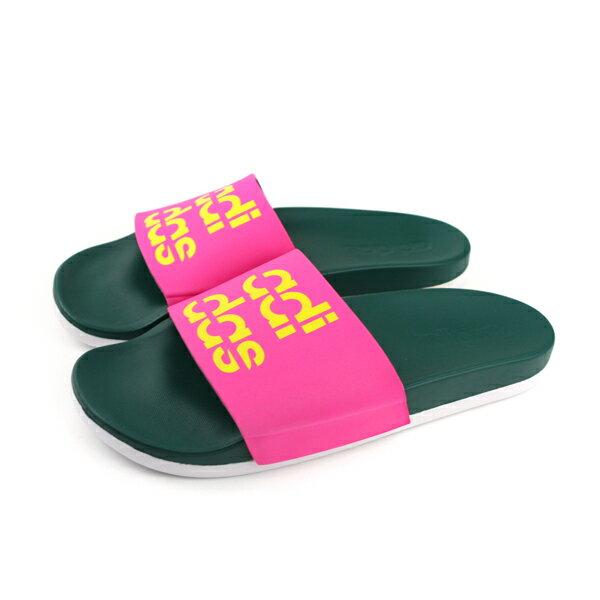 adidasADILETTECOMFORT拖鞋桃紅色女鞋B42209no616