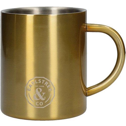 《CreativeTops》Earlstree銅色雙層不鏽鋼馬克杯(300ml)