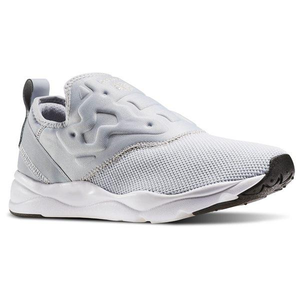 REEBOK FURYLITE SLIP ON HK 女鞋 休閒鞋 懶人鞋 復古 藍 灰 白 【運動世界】 AR2410