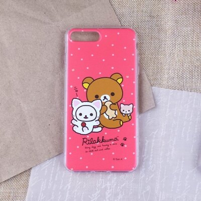 ?【Rilakkuma 拉拉熊】 ? iPhone 7 Plus 最新空壓防摔殼/手機殼/手機套