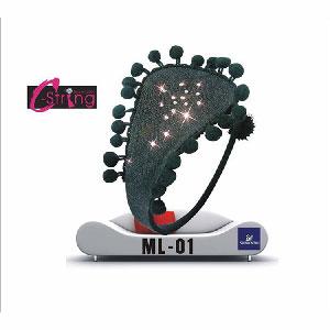 【伊莉婷】皇后希絲汀 C-String 施華洛世奇頂級水鑽 神秘黑 ML-01
