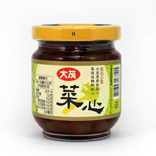 大茂 菜心 玻璃罐 170g