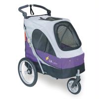 沛德奧Petstro寵物推車/狗推車-702GX 非洲越野系列2代 (紫色/銀灰)