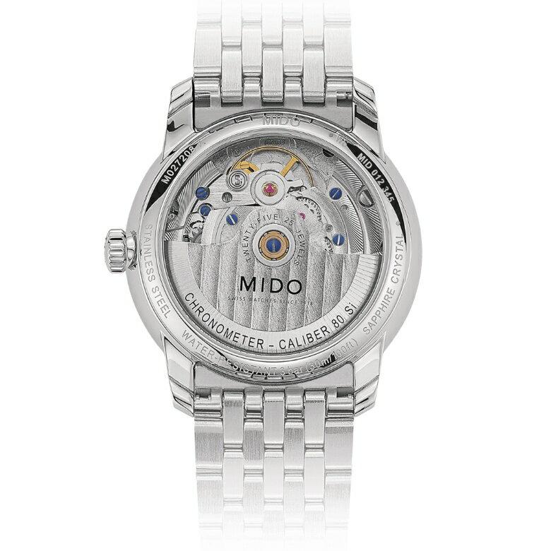 MIDO美度 M0272081103600 / 永恆系列天文台認證機械腕錶 / 34mm