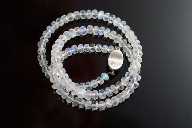 藍月光石項鍊 / 車輪切割 / 純銀飾品 / 原石擺件 / 全球熱銷中 / 台灣第一批首賣 M116