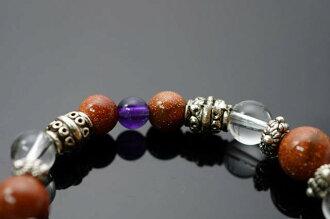 金砂石&紫水晶&白水晶&防古銀配件,生肖虎的守護者。N94