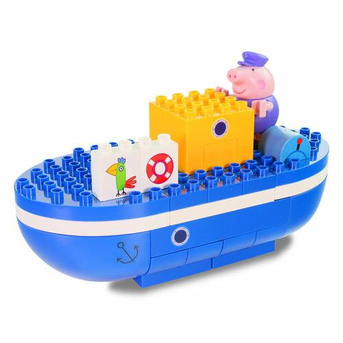 粉紅豬小妹爺爺豬的船