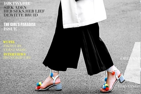 Pyf♥新款韓版彩色毛毛球低跟露趾涼鞋性感綁帶43大尺碼女鞋