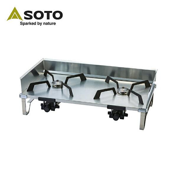 【買就送】SOTO 雙口爐ST-526 贈專BELLROCK複合金不鏽鋼戶外炊具9件組 0