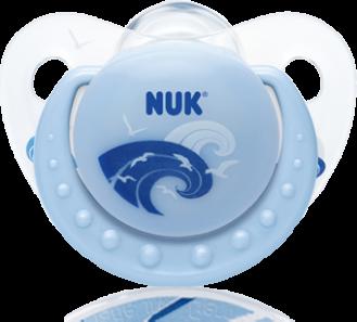 『121婦嬰用品館』NUK 安睡型矽膠安撫奶嘴 - 初生(2入) 2