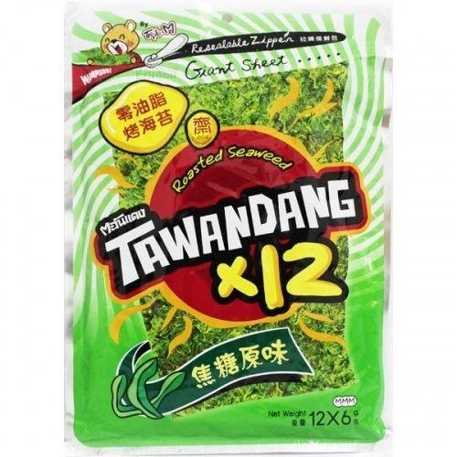 有樂町進口食品 泰國烤海苔 焦糖原味 72g 8858752600274 0