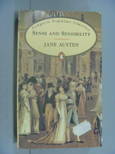 ~書寶 書T1/原文小說_IGP~Sense and Sensibility_Austen
