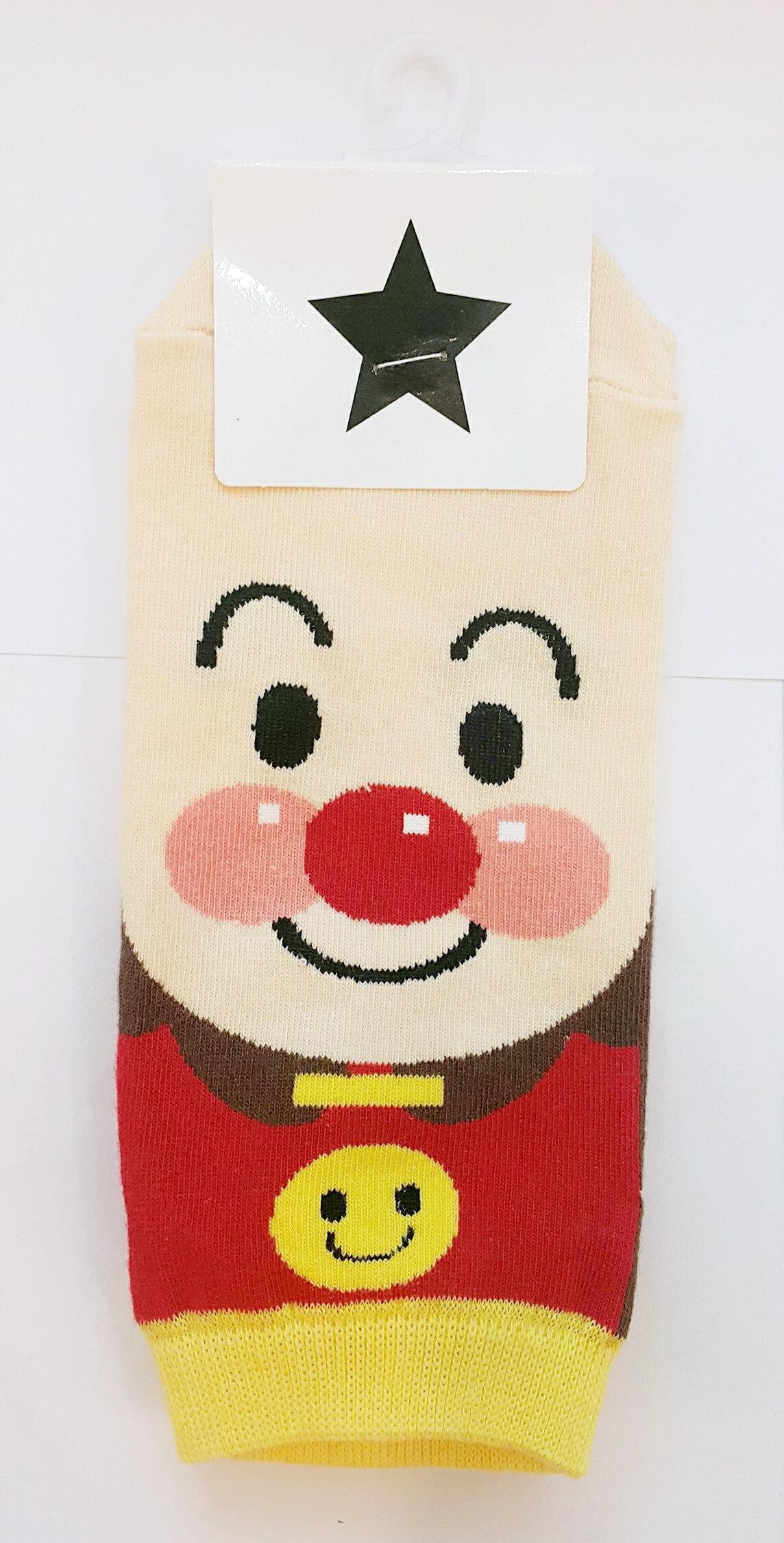 X射線【C190003】KIsssocks 麵包超人短襪(22-26cm),大人/小孩短襪/船型襪/sanrio卡通/襪子