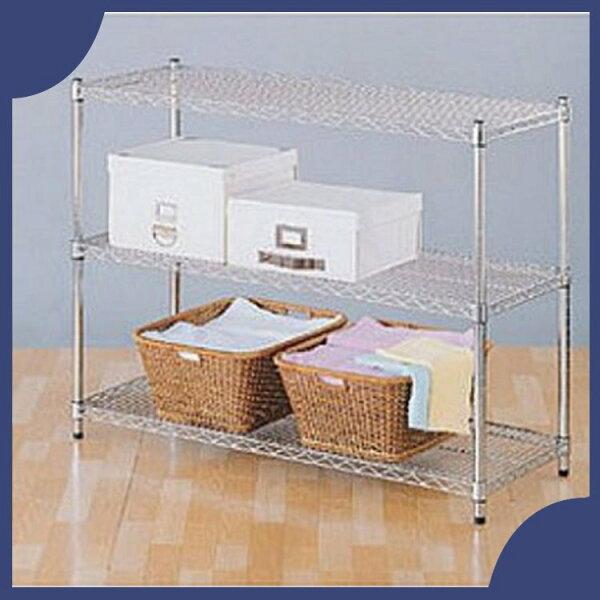 『商款熱銷款』【辦公家具】承重型波浪鐵架系列S45-12090-3鐵架櫃子收納架子置物