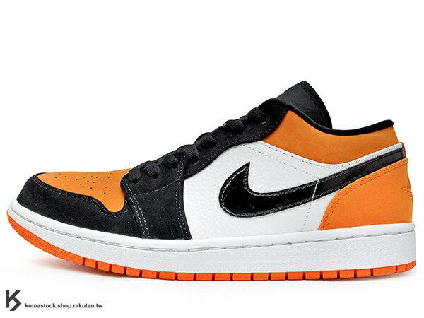 2019 經典重現 復刻鞋款 NIKE AIR JORDAN 1 LOW SHATTERED BACKBOARD 低筒 男鞋 白黑橘 小灌碎 灌碎藍框 AJ (553558-128) ! 0