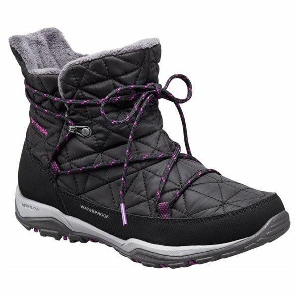 《台南悠活運動家》COLUMBIA UBL17440 防水保暖雪靴 黑