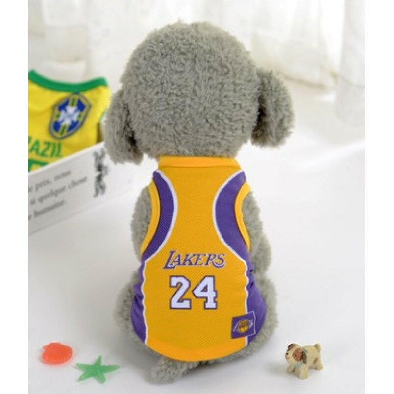 ~寵蟲~~DA~005C~夏日寵物衣服 網眼衣 狗狗衣服 透氣衣 NBA 球衣 公牛隊 賽
