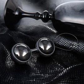瑞典LELO*Luna Beads Noir 露娜球(聰明球)_黑珍珠(後庭專用)