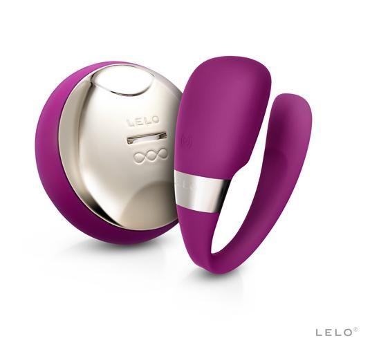 瑞典 LELO TIANI 3 cerise US蒂阿妮3代 遙控情侶共振按摩器 紫紅 燁煜