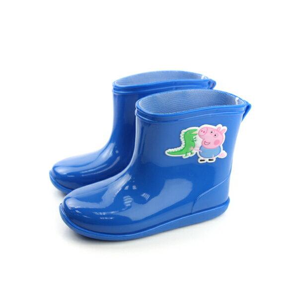 粉紅豬小妹 雨鞋 童鞋 藍色 小童 no689
