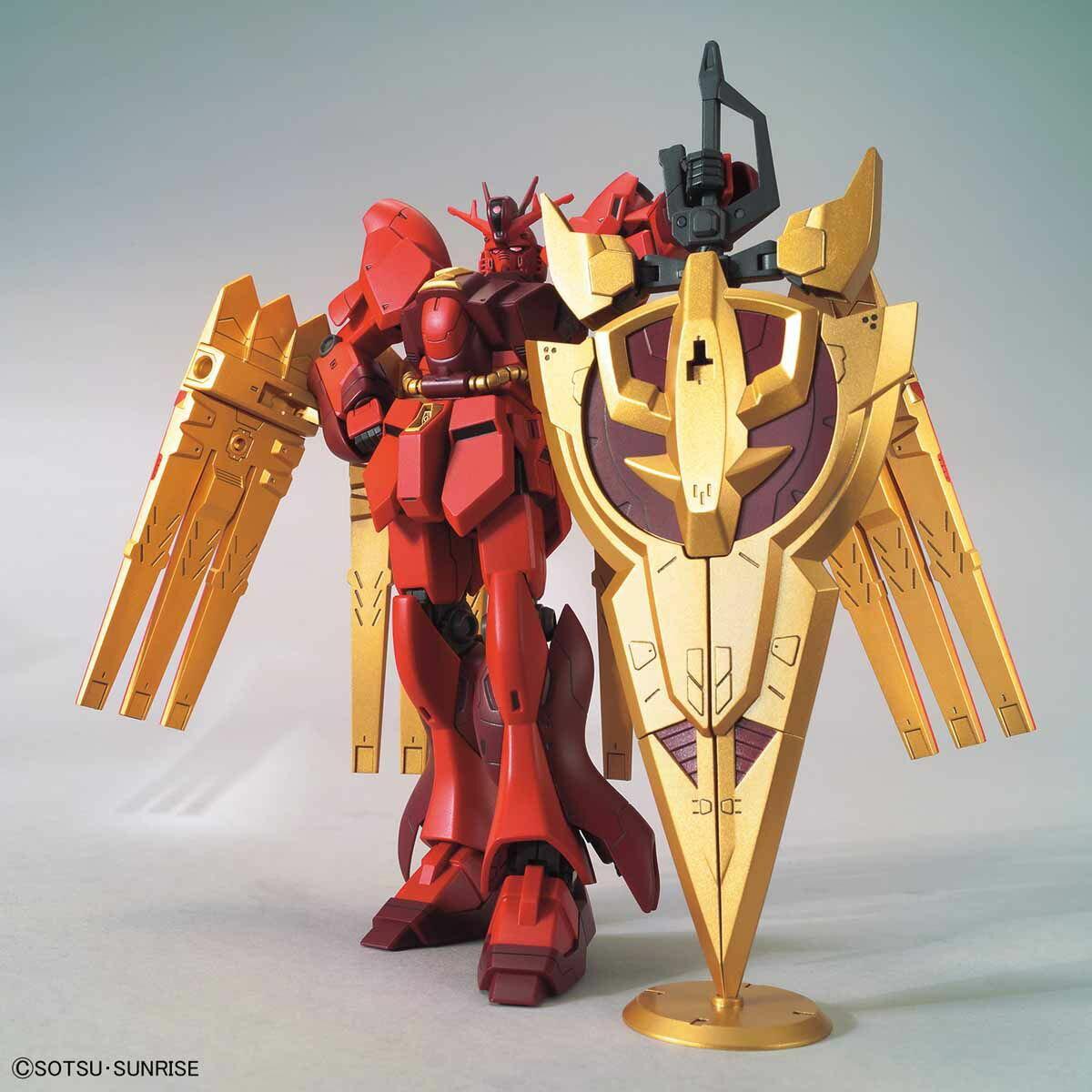 ☆勳寶玩具舖【鋼彈現貨】BANDAI 組裝模型 HGBD:R 1/144 #005 ν- 吉翁鋼彈