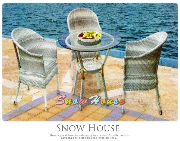 ╭☆雪之屋居家生活館☆╯@特價優惠@AA967-04LA304B海島風休閒藤椅戶外休閒椅單張椅子