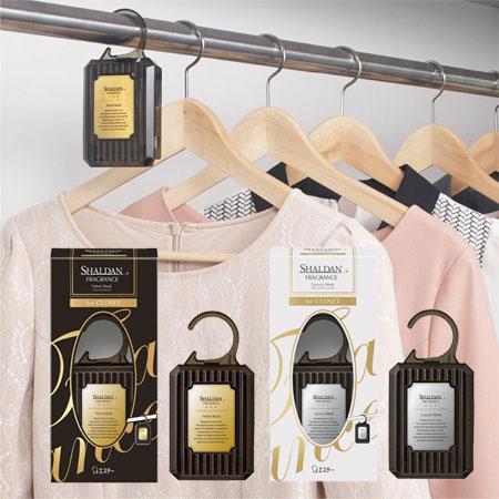 日本雞仔牌SHALDAN時尚魅力香水衣櫥吊掛芳香劑30g衣櫥衣櫃櫥櫃麝香掛式芳香吊掛芳香劑【B063124】
