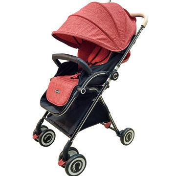 ★衛立兒生活館★Cuibaby 酷貝比 高景觀單向秒收嬰兒推車/手推車-紅色