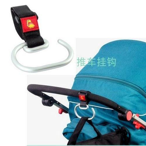 嬰兒推車掛鉤 鋁合金手推車安全掛勾  1入  JY0522 好娃娃