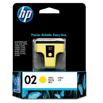 【OKIN】HP 原廠黃色墨水匣 C8773WA 02號 噴墨印表機