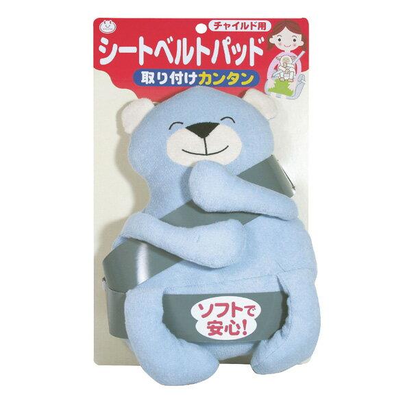 SANKO 造型幼兒安全帶調整器-熊熊