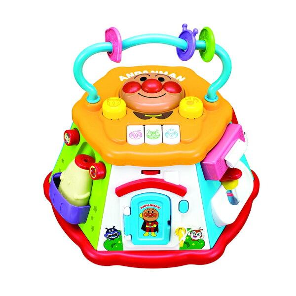 Anpanman麵包超人七面益智盒玩具鋼琴旋律串珠開鎖音樂學習聲音節奏日本進口正版310896