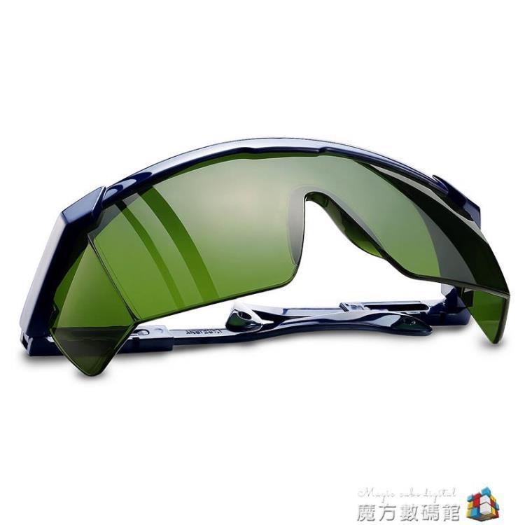 焊工專用護目鏡防風防護眼鏡電焊打磨防飛濺防強光防護燒焊氬弧焊【免運】