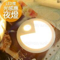 元宵節推薦日光城。吃豆豆LED感應小夜燈(光控版),LED燈夜燈USB燈桌燈黃光燈造型夜燈小夜燈創意禮物交換禮物